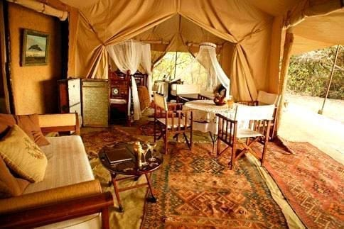 african glamping