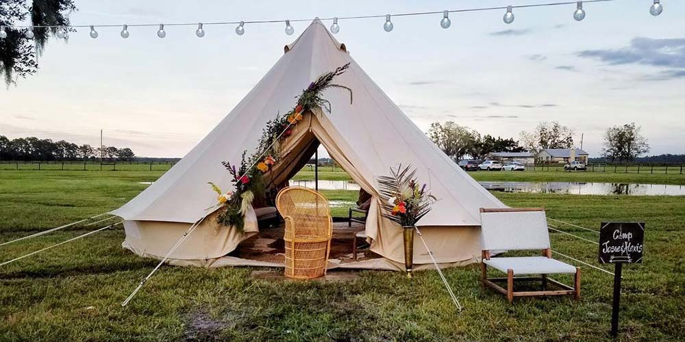fancy camps florida glamping