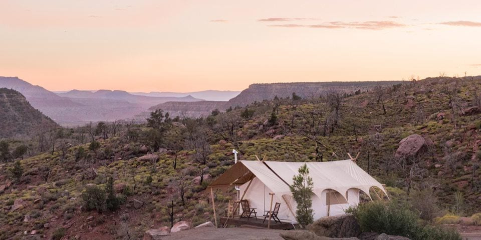 under canvas us montana glamping