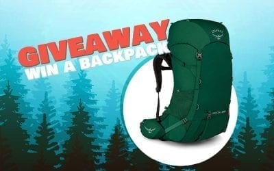 Enter Our Giveaway to Win a Hiking Backpack