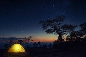 night stories about camping