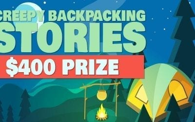 Calling All Backpackers! Win a $400 Prize with Your Creepy Backpacking Story!