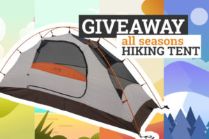 hiking tent giveaway