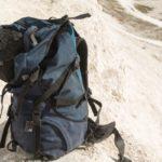 backpacking pack closeup